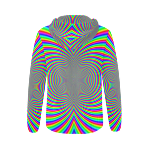 Hypnotizer All Over Print Full Zip Hoodie for Women (Model H14)
