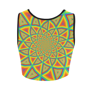 Colorspiral Women's Crop Top (Model T42)