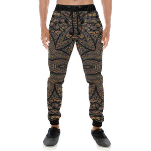 Elemental Earth Men's All Over Print Sweatpants (Model L11)