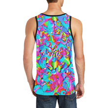 Rainbowbubbles Men's All Over Print Tank Top (Model T57)