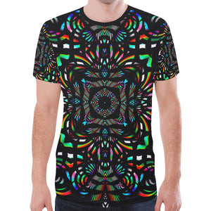 Cathedral New All Over Print T-shirt for Men (Model T45)