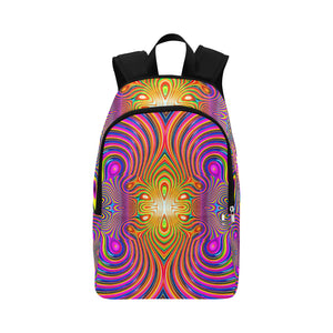 Energy Fields Fabric Backpack for Adult (Model 1659)