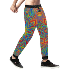 Lit Men's All Over Print Sweatpants (Model L11)