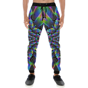 Luminous Men's All Over Print Sweatpants (Model L11)