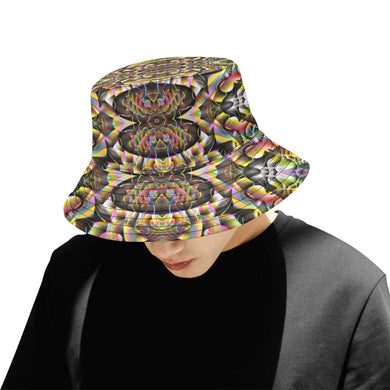 Ayahuasca All Over Print Bucket Hat for Men