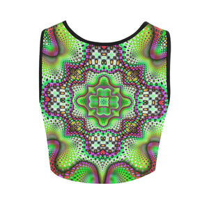 Borophyll Women's Crop Top (Model T42)