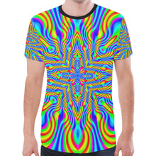 Higher Frequencies New All Over Print T-shirt for Men (Model T45)