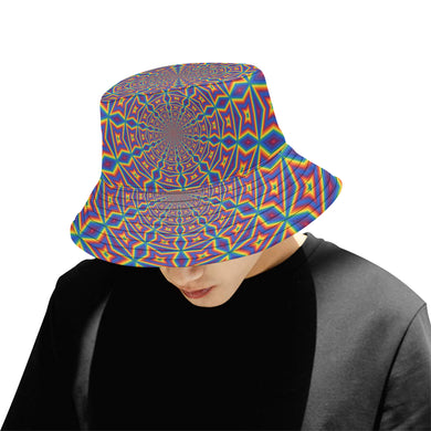 Groovy All Over Print Bucket Hat for Men