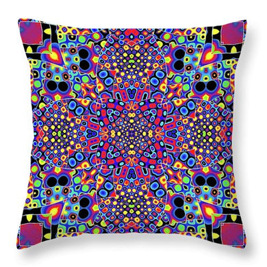 Alien Flora - Throw Pillow