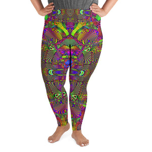 Trippydelik Plus Size Leggings