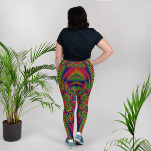 Tropical Plus Size Leggings