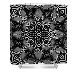 B W - Shower Curtain
