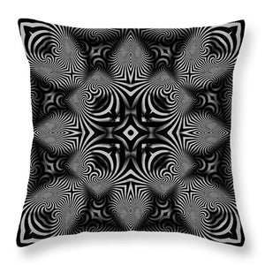 B W - Throw Pillow