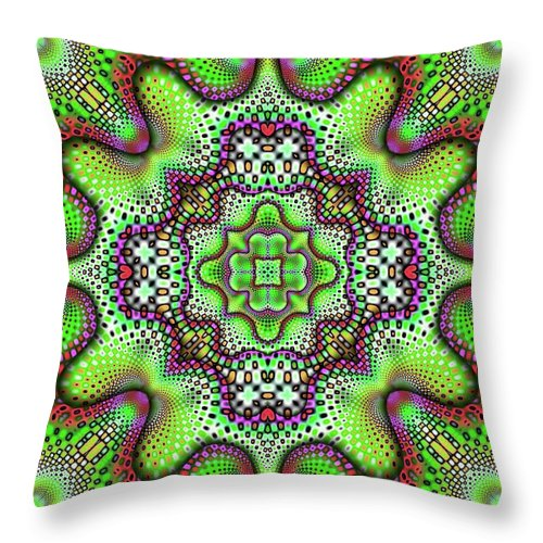 Borophyll - Throw Pillow