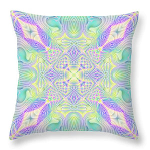 Celestial Terra - Throw Pillow