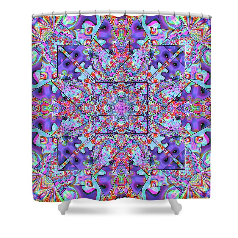 Colorburst - Shower Curtain