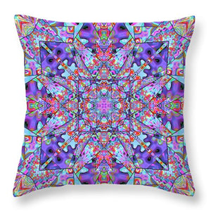 Colorburst - Throw Pillow