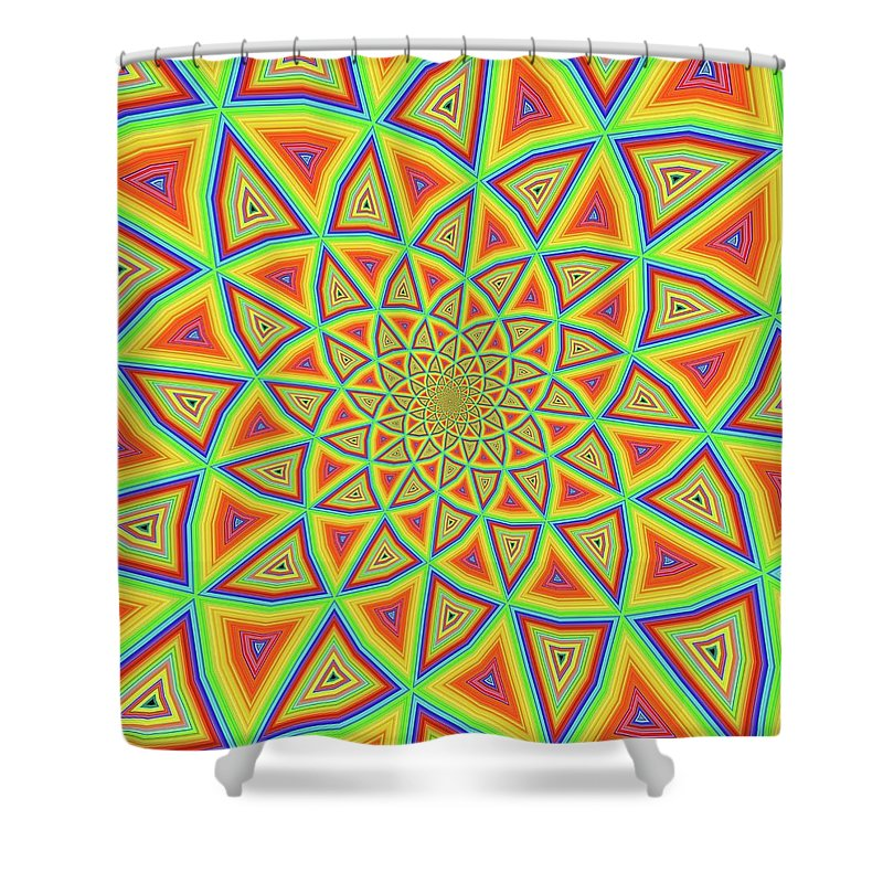 Colorspiral - Shower Curtain