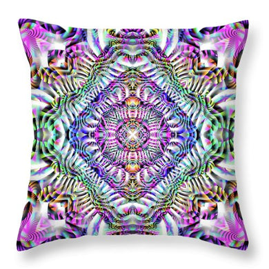 Coral Reefer - Throw Pillow