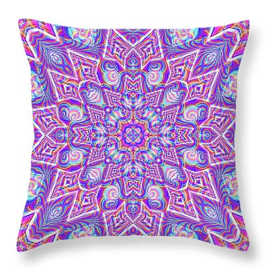 Delicate - Throw Pillow