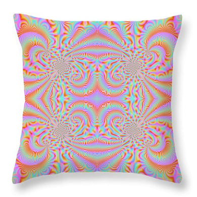 Delightful Deity - Throw Pillow