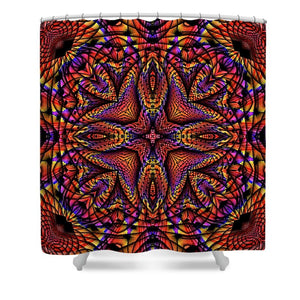 Elemental Fire - Shower Curtain