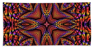 Elemental Fire - Beach Towel