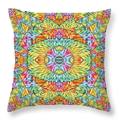 Eye Of The Sun - Throw Pillow