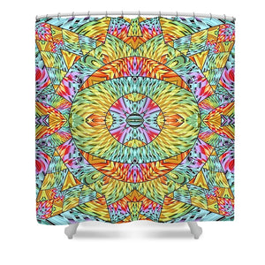 Eye Of The Sun - Shower Curtain