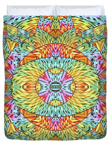 Eye Of The Sun - Duvet Cover