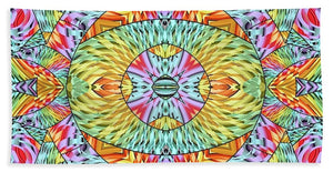 Eye Of The Sun - Beach Towel