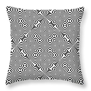 Fiber Optics - Throw Pillow