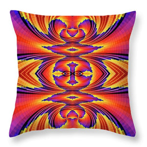 Firewave - Throw Pillow