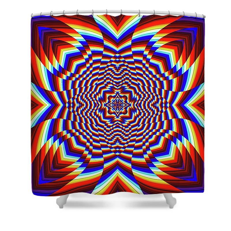 Focused - Shower Curtain