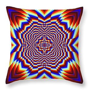 Focused - Throw Pillow