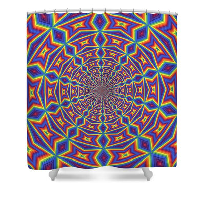 Groovy - Shower Curtain