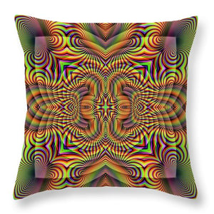 Harmonic - Throw Pillow
