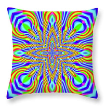 Higher Frequencies - Throw Pillow