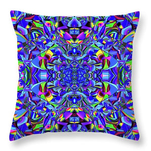 Hope In Blue - Throw Pillow
