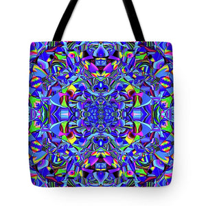Hope In Blue - Tote Bag