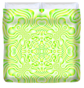 Lemon Lime - Duvet Cover