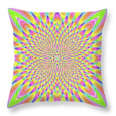 Lightfield - Throw Pillow