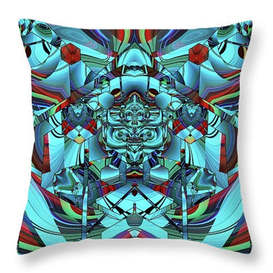 Mechanical Owl - Throw Pillow
