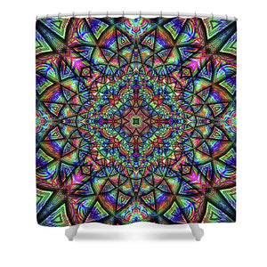 Meditative Thoughts - Shower Curtain