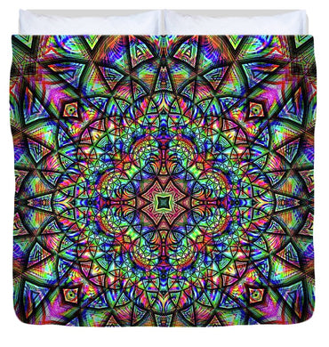Meditative Thoughts - Duvet Cover