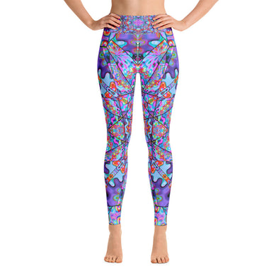 Colorburst Yoga Leggings