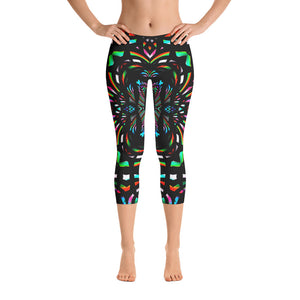 Cathedral Capri Leggings