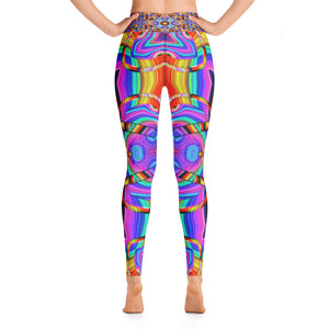 Hyper Cube Yoga Leggings