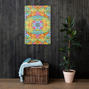 Eye of the Sun Canvas