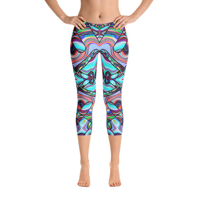 Inner Palace Capri Leggings